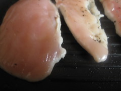 Breasts on the grill