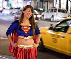 Supergirl in Downtown San Diego (San Diego Shooter) Tags: sandiego cosplay streetphotography supergirl downtownsandiego sandiegopeople sandiegostreetphotography gaslampquartersandiego