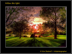 Follow the Light (Irishphotographer) Tags: trees light sunset lake nature water sunrise intense shadows path kinkade followthelight beautifulireland irishphotographer imagesofireland craigavonlakes kimshatwell breathtakingphotosofnature beautifulirelandcalander wwwdoublevisionimageswebscom