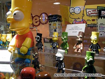 Bart Simpson toys