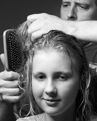 Hair Brushing