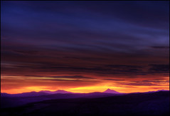 Schiehallion - Sunset (angus clyne) Tags: sunset scotland perthshire dunkeld birnam flikcr schiehallion kingsseat