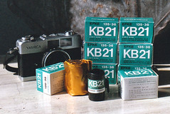 EFKE KB 21 35mm B&W Film - OLD FILM PROJECT
