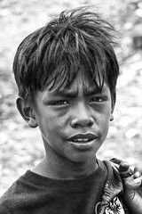 Smoky Mountain, Tondo - Young Scavenger Boy. Uncertain future. (Mio Cade) Tags: mountain youth work photo khmer photographer philippines memory manila smoky magnum influence tondo wernerbischof