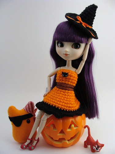 Crochet Witchy Halloween Dress