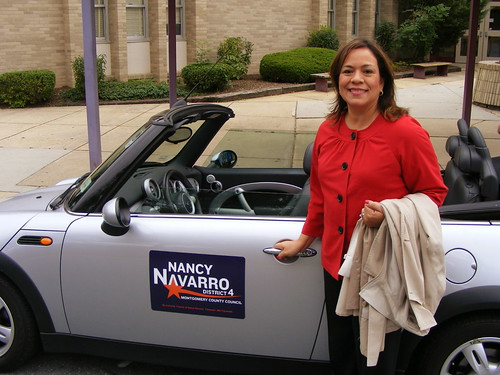 Nancy Navarro and the Zipcar