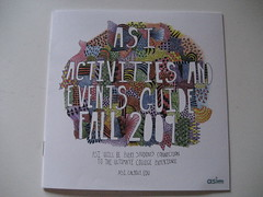 Activities and Events Guide Fall 2009 (alyssaduhe) Tags: illustration typography design calpoly asi guidedoodlestypelettering