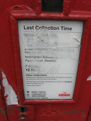 IMG_0753 (SK53 OSM) Tags: geotagged postbox notts openstreetmap attenboroughvillage geo:lat=5290636050 geo:lon=123200625