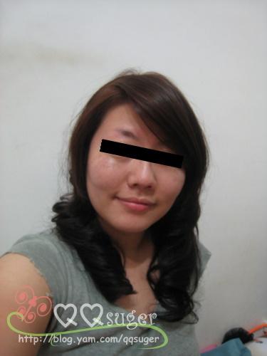 你拍攝的 染髮4。