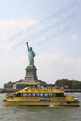 JNK_IMG_7888_NYC (Outside Imagery) Tags: city newyorkcity newyork tourism boat cityscape manhattan tourist hudsonriver statueofliberty bigapple newyorknewyork immigration thebigapple newyorkwatertaxi commercialboat mahattanisland