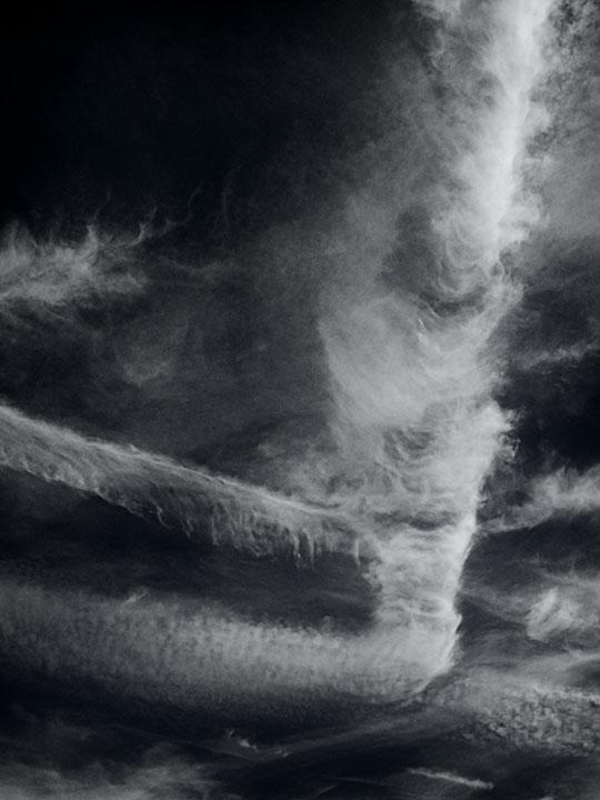 Photography - Contrail Clouds by Nicholas M Vivian