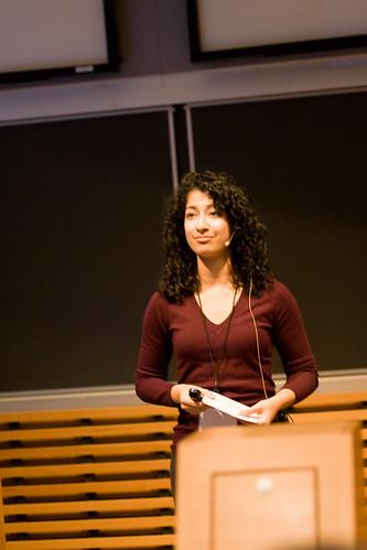 Nadine Qureshi @ UBC TEDxTerry Talks 2009