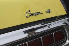 Cougar (Rick Miller Photography) Tags: classic emblem classiccar vintagecar automobile mercury wheels 70s cougar xr7