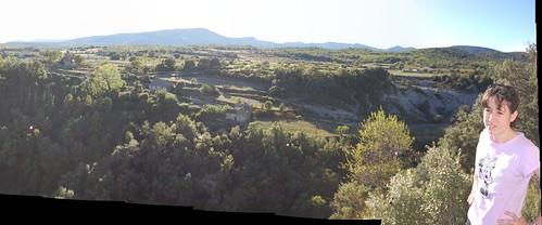 Paisaje al lado del Castillo de Arcusa