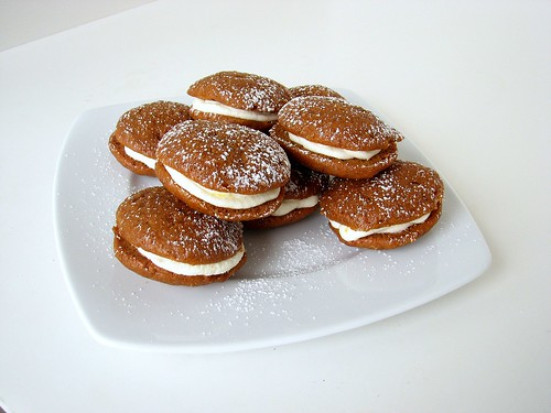 SMS Spiced Pumpkin Cookie Cakes