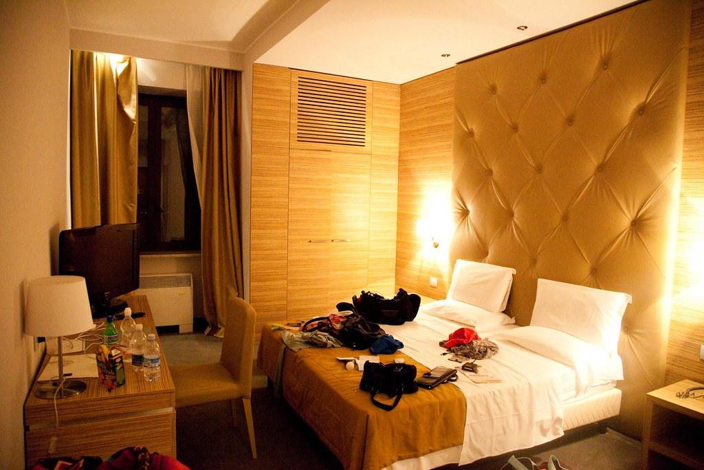 Hotel Room in Rome