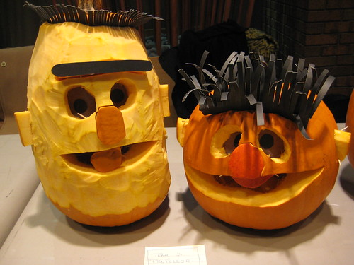 Pumpkin Inspiration: Ernie and Bert