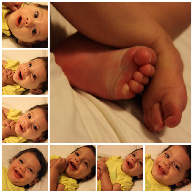 Face 'n Feet Collage