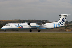 G-FLBC - 4257 - Flybe British European - De Havilland Canada DHC-8-402Q Dash 8 (DHC-8) - Luton - 091029 - Steven Gray - IMG_3117