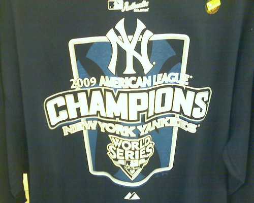 This ALCS shirt went old fast! I want the World Series shirt now!