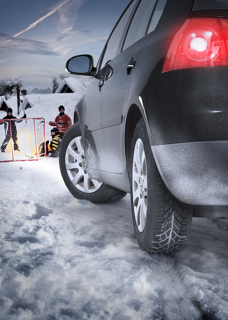Continental Car Tyres - ContiWinterContact TS 830 On The Road