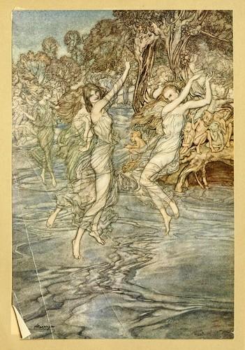 011-Comus de John Milton-ilustrada por Rackham 1921