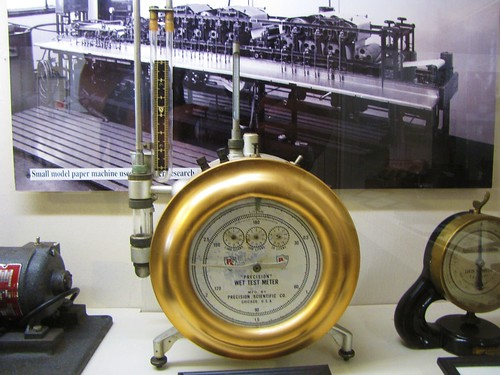 Old wet test meter