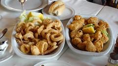 Adobo y Calamares fritos