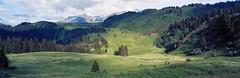 Là-haut (Tonton Dave) Tags: panorama mountain montagne landscape suisse vert linhof paysage diablerets vaud technorama alpage chavonnes forclaz