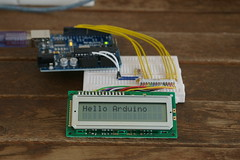 Arduino Duemilanove with LCD(HD44780)
