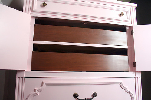 Pink Painted Dresser