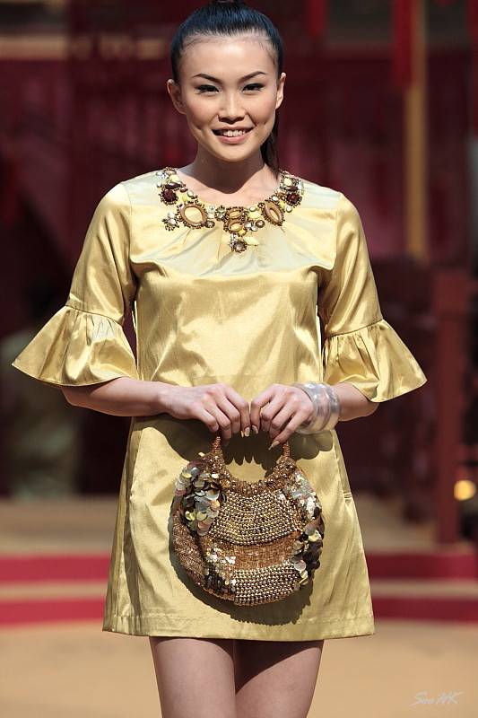 Sallabianca, CNY Fashion Show @ MidValley, KL, Malaysia