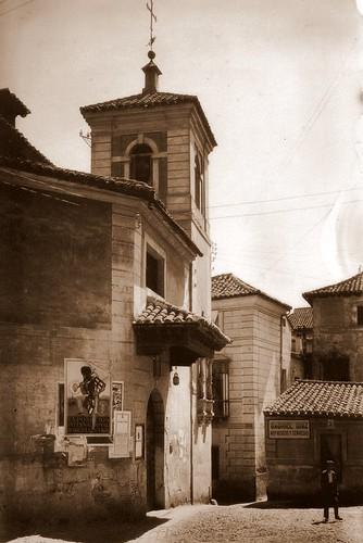Iglesia de El Salvador de Toledo a principios del siglo XX.