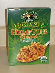 Nature's Path Hemp Granola aka Weed Cereal