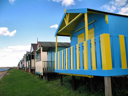 Beach Huts in Tankerton, Kent 4173