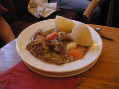 The Glendalough Hotel Lounge & disappointing dinner..