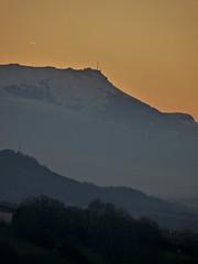 2009-LA RHUNE (lolito de palermo) Tags: sunset snow montagne de la soleil neige pays basque pyrenees rhune couche