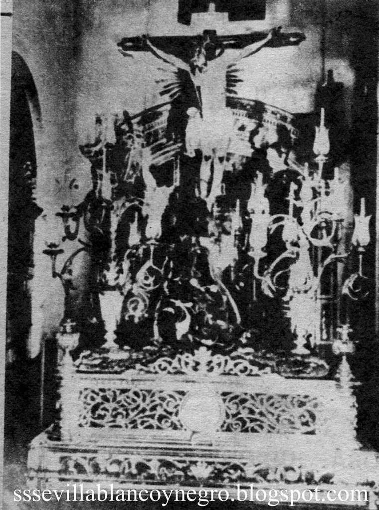 Stmo. Cristo de Burgos y Madre de Dios de la Palma. 19...