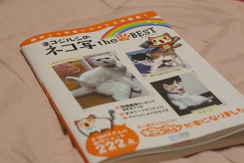 ネコジルシのネコ写 ザベストに掲載されました!