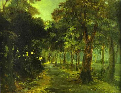 Gay, Nikolay (1831-1894) - 1868 Florence. The Cascina Park