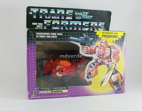 Transformers Rampage G1 - caja (by mdverde)