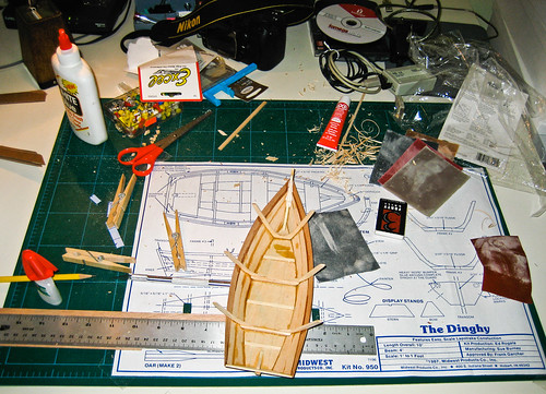 Behind the Scenes #1, Model Boat Building
