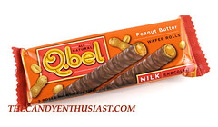 Q.bel Peanut Butter Wafer Rolls Package