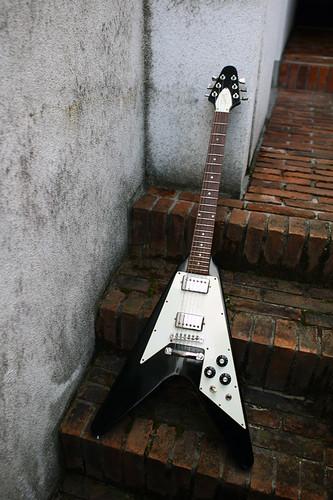Gibson Flying V 1978 Black