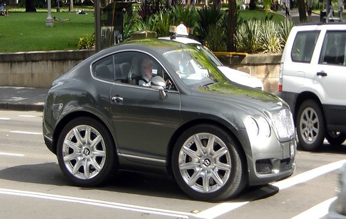 Mini Bentley Continental GT