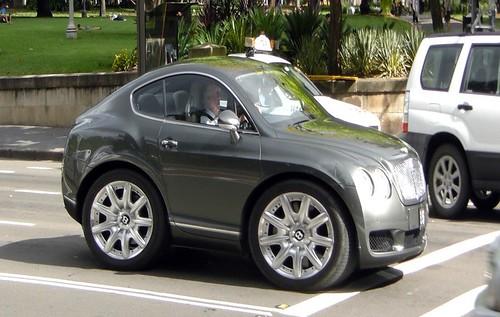 Mini Bentley Continental GT