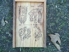 Celtic Symbol Rune Casting Board (dragonoak) Tags: nordic celtic viking runes futhark asatru diviniation castingboard