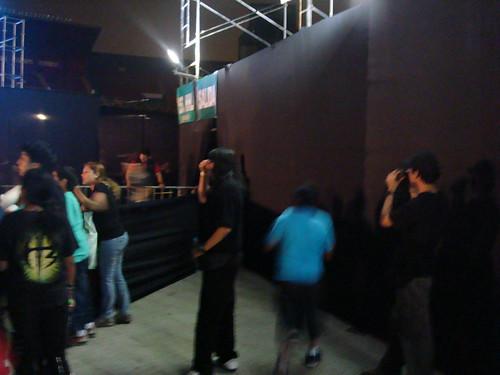 Ariente Robert colandose en el VIP (1)