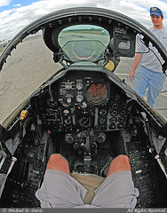 USA - Navy McDonnell F-4S Phantom II (158353) **Cockpit** (Michael Davis Photography) Tags: airplane photography airport charlotte aviation military flight navy jet cockpit usnavy f4 pilot jetfighter charlotteairport mcdonnelldouglas unitedstatesnavy f4j usmilitary charlottenorthcarolina f4phantom fighterjet clt militaryjet kclt carolinasaviationmuseum airportramp 158353 mcdonnelldouglasf4 f4cockpit fightercockpit