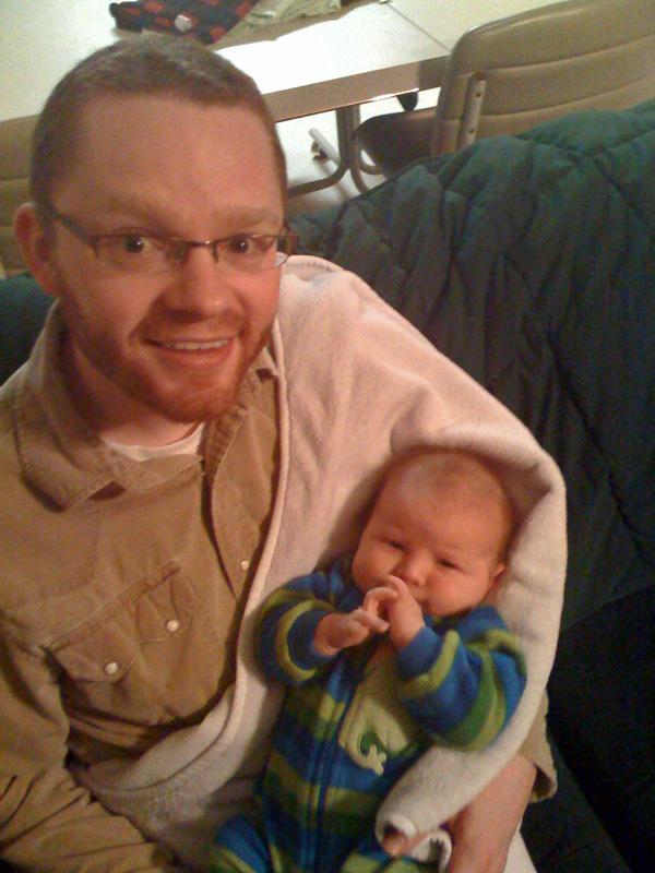 Me and baby Ian